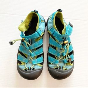 Keen Newport Blue Green Waterproof Hiking Sandals